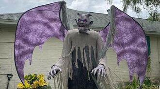 NEW FOR 2020 Home Depot Winged Demon Life Size Animatronic Halloween Prop SVI
