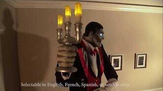 Seasonal Visions 2017 (Costco) Animated Butler