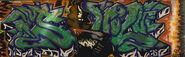 Seattle Cap Hill graffiti 1993 - 01