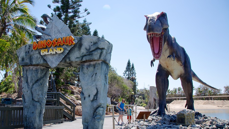 Dinosaur Large Head Mouth Open In Profile Photo By Brians101