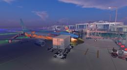 Aeromiao flight at Seychelles International (11-14)