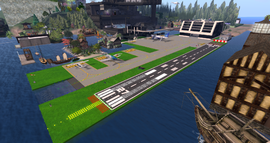 Magicport Airport, looking SW (01-15)