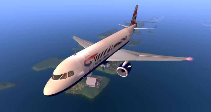 Airbus A320 (LeZinc) | Second Life Aviation Wiki | FANDOM powered by
