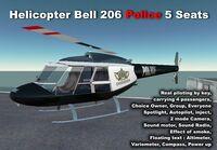Bell 206 Police (Apolon) Promo