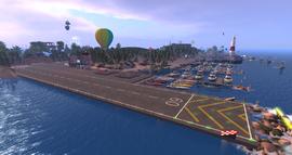 Calpe Airfield & Marina, looking SE (01-14)