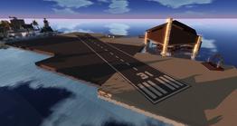 Gaeta Airport Club, looking north-west (November 2014)
