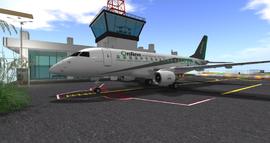 Online airliner at Meriman's Airport (04-15)