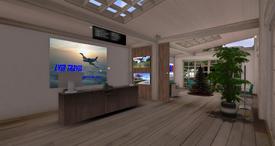 Saint Clement Aerodrome Terminal (12-14)