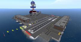Nyhavnafjord Regional Airport, looking NE (02-15)