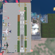 Gorlanova Airport Detailed Map