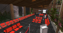 East River Airport, waiting area (04-14)