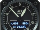 The airport altitude (QNH)