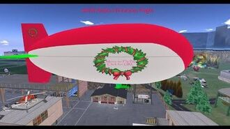 Christmas Blimp Flight December 25th, 2019