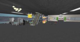 DT Regional Skyport terminal, -1 floor