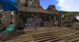 Mayday Bar, looking west (01-15)