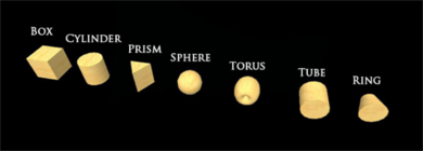 Types of prims