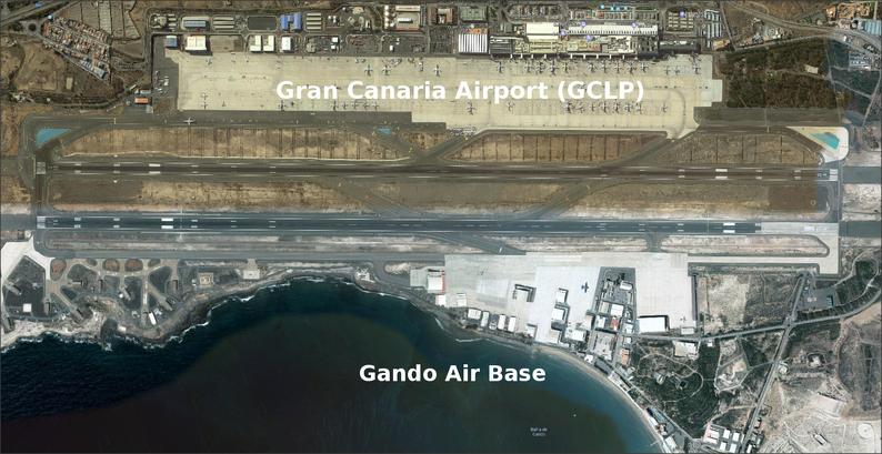 GCLP & Gando Air Base, Spain