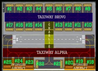 SLCU Taxiway Diagram