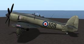 Hawker Sea Fury (Skunkette) 3