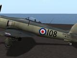 Hawker Sea Fury (Skunkette)