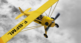 Piper J-3 Cub (EG Aircraft) 1