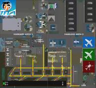 Tuarua Fiji International Airport - TFIA Signs and markings