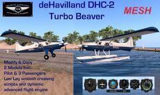 DHC-2 Turbo Promo (S&W)
