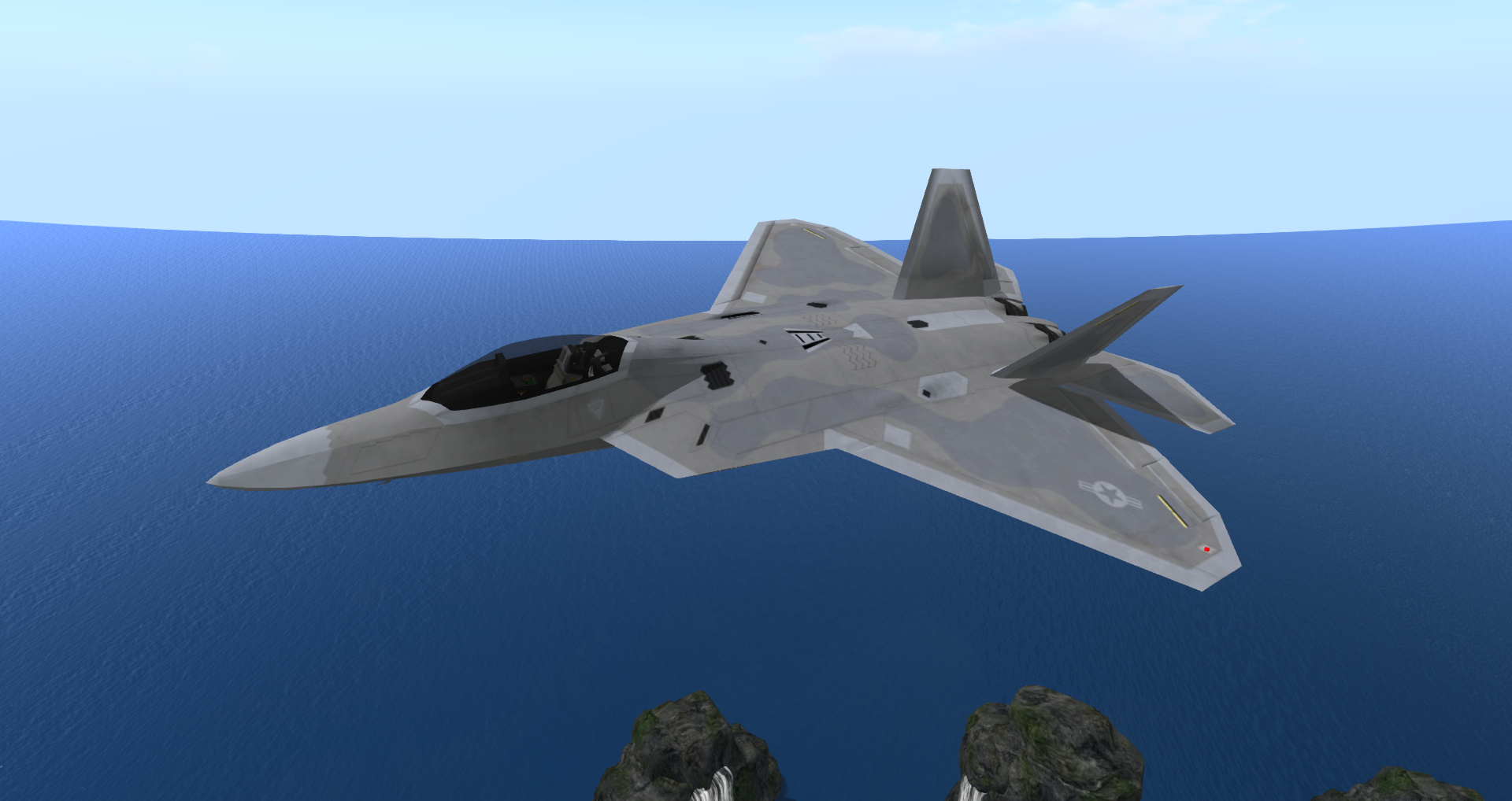 Lockheed Martin F-22 Raptor & F-22 Raptor (E-Tech) | Second Life Aviation Wiki | FANDOM powered ...