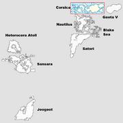SL Continent Map - Corsica