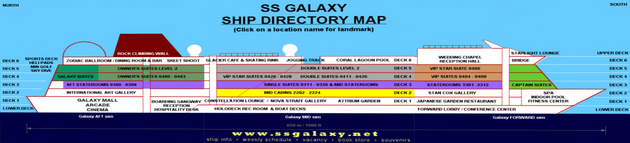 SS Galaxy Cross-Section Map
