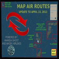 Map Air Routes - main - April 2013
