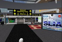 Second Life International Airport, terminal interior (06-12)