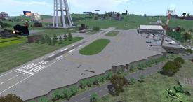 =SAS= Airfield, looking SE (11-14)