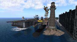 Slayton Naval Air Base, looking SW (02-11) -3-