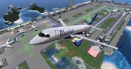 Bluejet Airways flight 1724 departing from Seychelles Int (12-14)