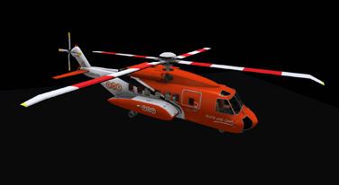 S-92 TNT Heli