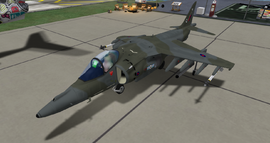 BAE Harrier II GR7 (AMOK)