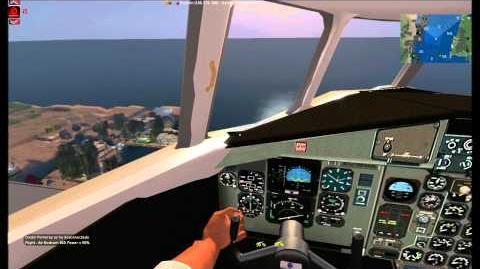Second Life ATR 42-600 IBERIA SLHA to SLNH