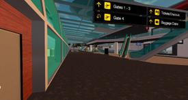 Miami Airport terminal interior, looking S (10-13)