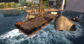 Sharky's Landing, looking SE (10-15)