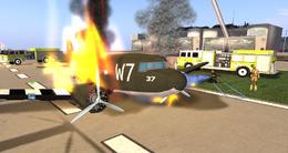 SLAI firefighting, D-Day Event (06-14)