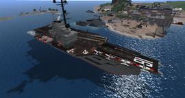 USS Lexington, looking SW (03-15)
