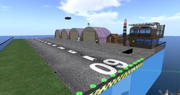 Ash Studios Airfield, looking SE (01-14)