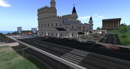 Princess Castle Airfield, looking SW (04-14)