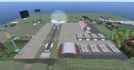 Frank Jack Fletcher Airfield, looking east (01-15)