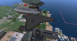 Blue Airstrip Airship Dock (04-14)