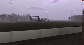 Tsurington Aerodrome 2015 foggy morning 001