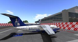 Britannia Air BAE 146