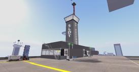 DT Regional Skyport terminal looking SE
