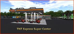 TNT Express Super Center Poster